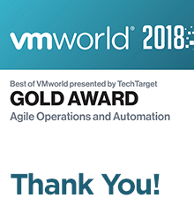 Morpheus CMP awarded a Best of VMworld for Agile Operations and Automation feature image