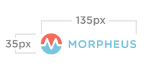 Morpheus minimum logo size